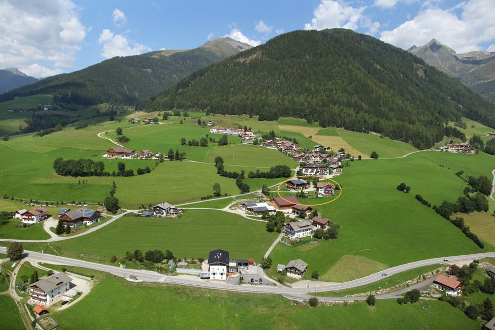 Farm holidays in Pusteria Valley on the new farm Leimgruberhof