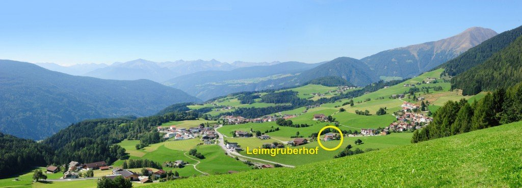 Holidays in the sunny village of Terento – Pusteria Valley / South Tyrol