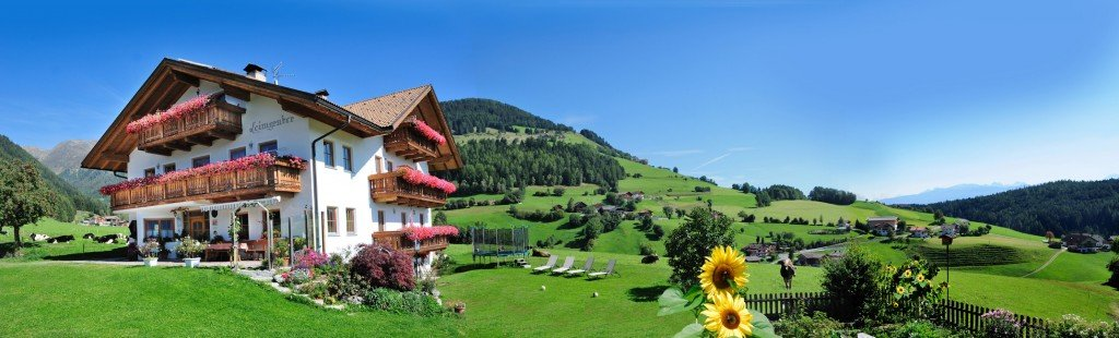 Farm holidays in the Pusteria Valley on the beautiful farm Leimgruberhof