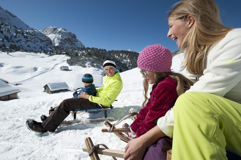 Toboggan runs in Val Pusteria – family fun guaranteed!