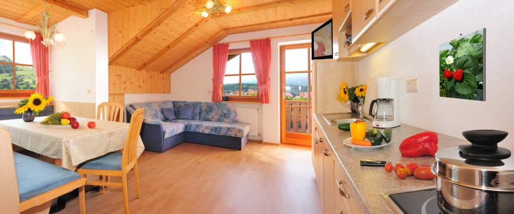 Comfortable and spacious holiday apartments in Terento on the Farm Leimgruberhof